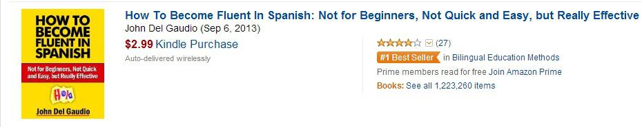 Bestselling Spanish Book