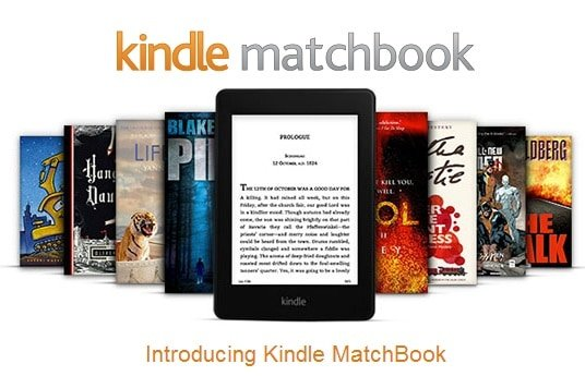 How Kindle Matchbook Can Help You Sell More Books