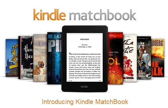 Kindle Matchbook Marketing