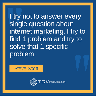 How To Become a Top 100 Bestselling Self Published Author Steve Scott quote image