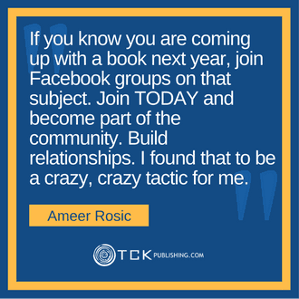 Get 40,000 eBook Downloads in One Week Ameer Rosic quote image