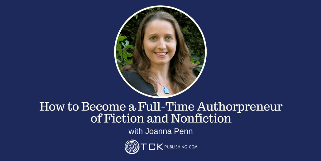 Become a Full-Time Authorpreneur Joanna Penn header