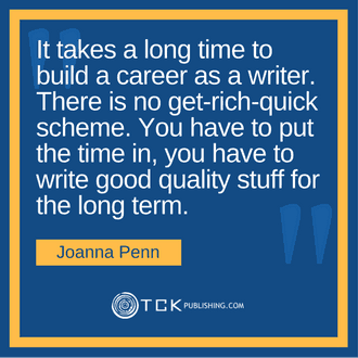 Become a Full-Time Authorpreneur Joanna Penn quote image