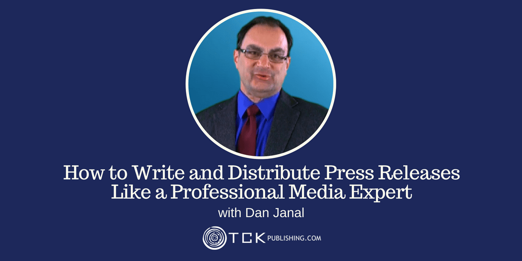 Write and Distribute Press Releases Dan Janal header