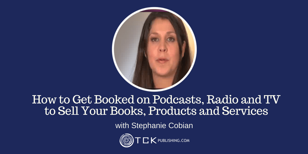 Get Booked on Podcasts, Radio and TV Stephanie Cobian header