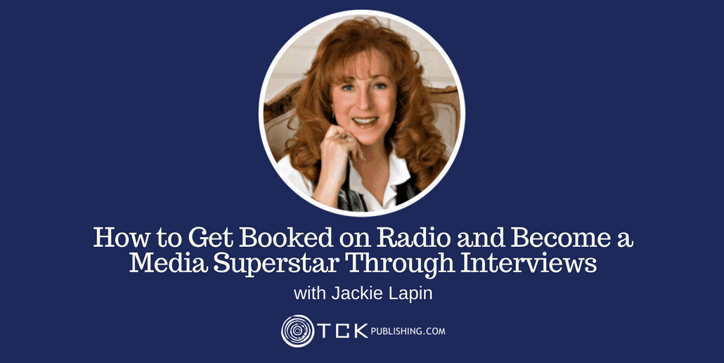 Get Booked on Radio and Become a Media Superstar Jackie Lapin header