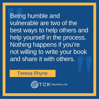 Going from Unknown Author Teresa Rhyne quote image