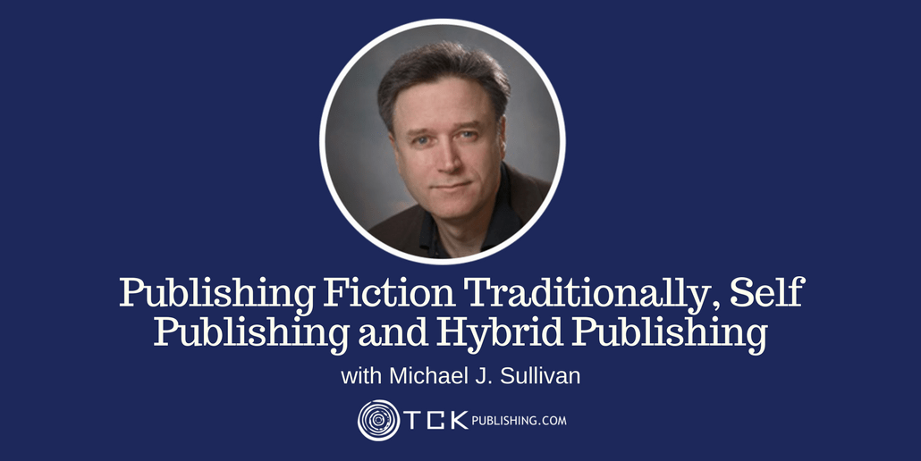 Publishing Fiction Traditionally Michael Sullivan header