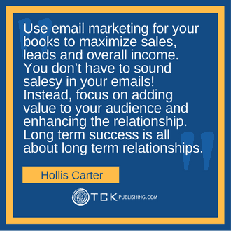 Online Marketing System Hollis Carter quote image