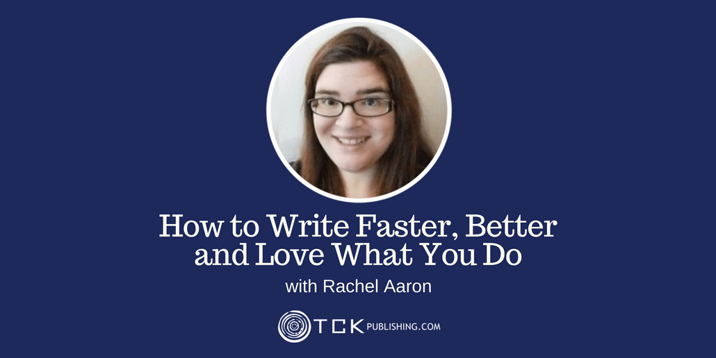 036: How to Write Faster, Better and Love What You Do With Rachel Aaron