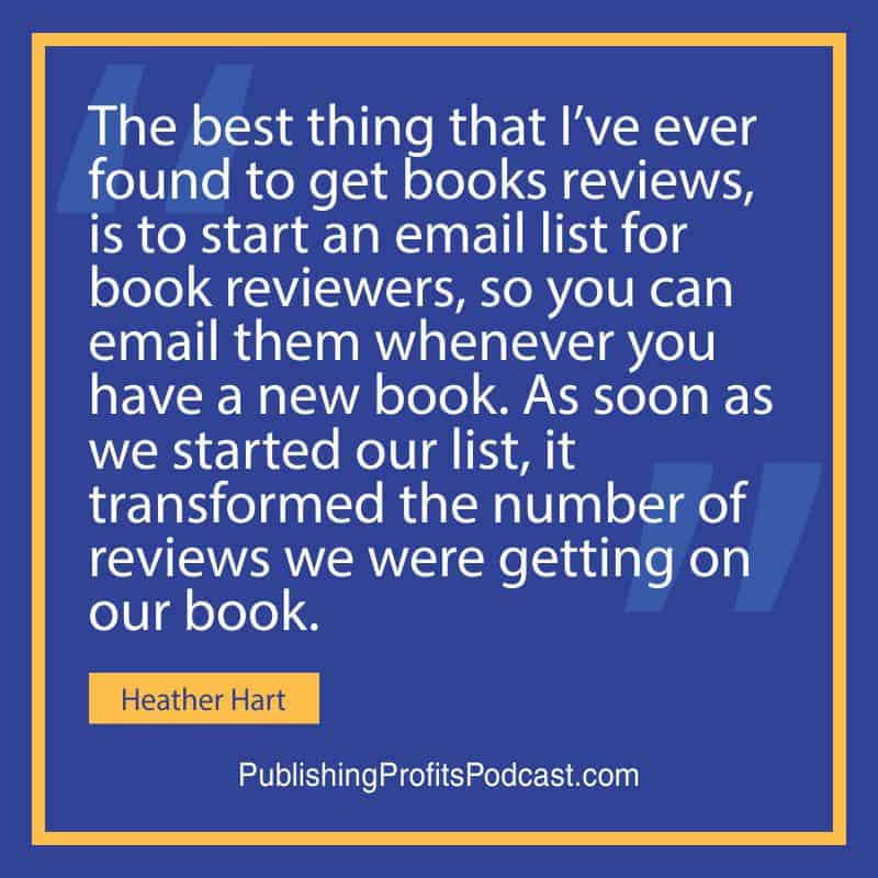 Get More Book Reviews Heather Hart quote image