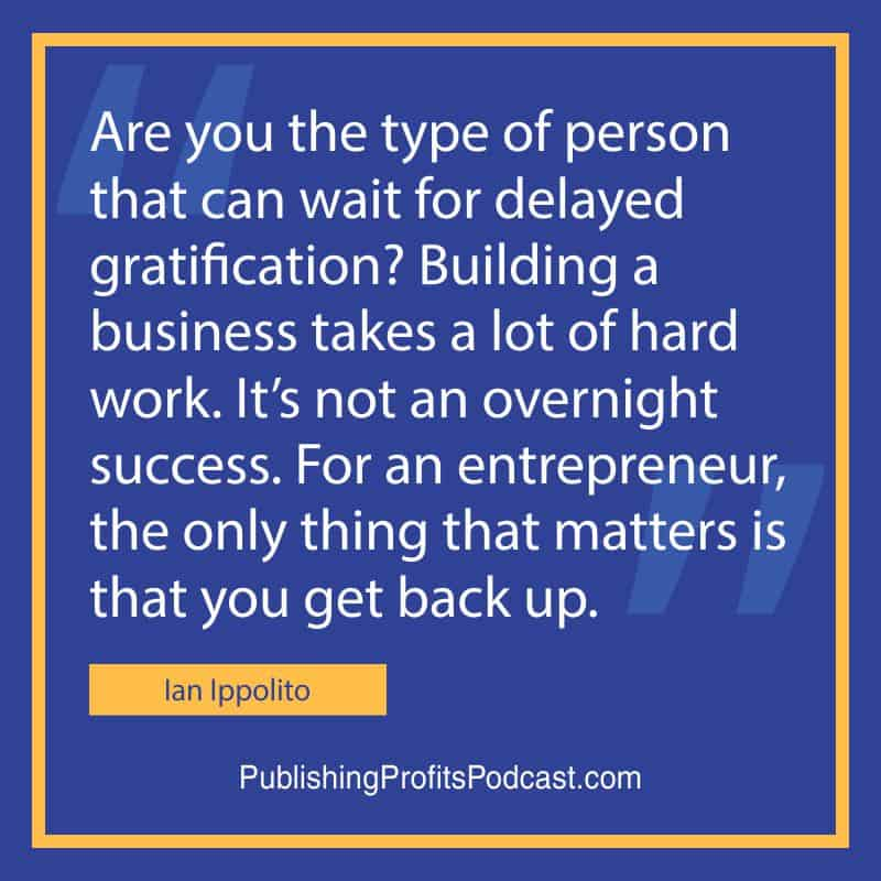 Starting a Successful Business Ian Ippolito quote image