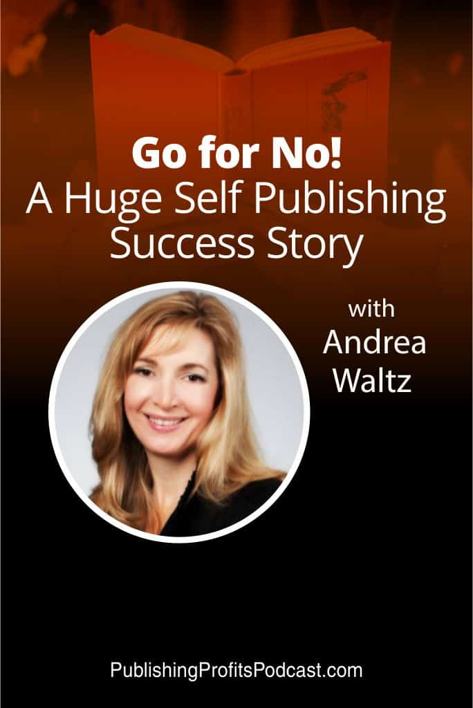Go for No Andrea Waltz pin image