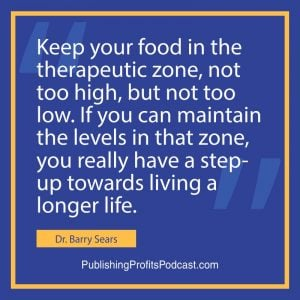 Zone Diet Dr Barry Sears quote image