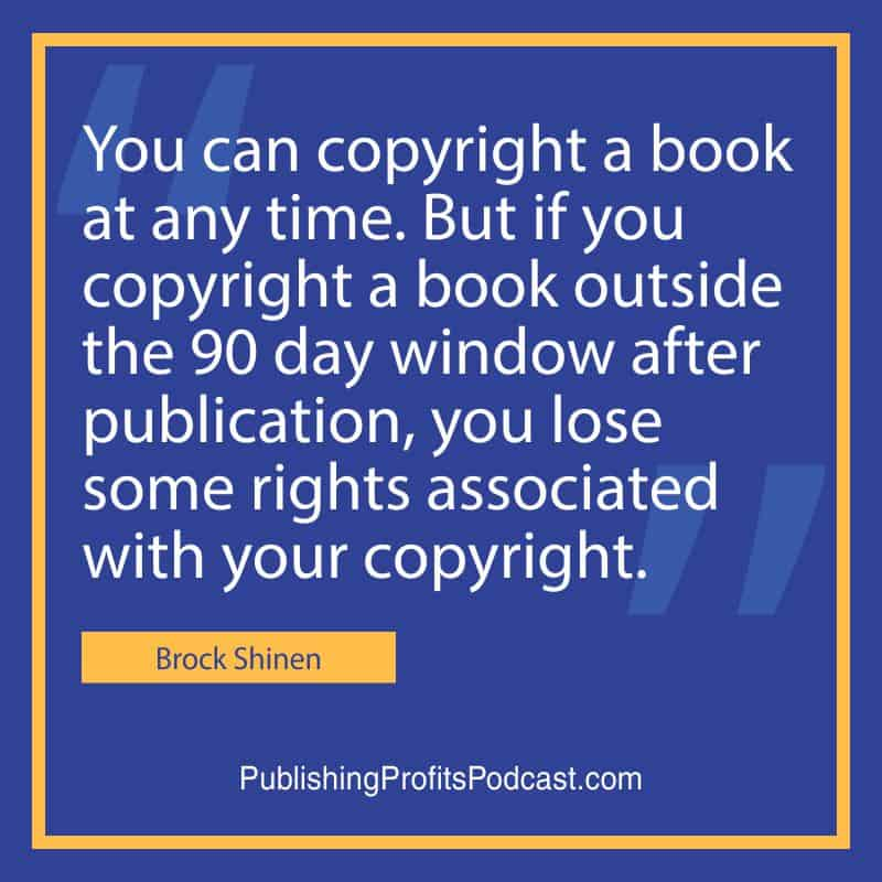 Copyrights Brock Shinen quote image