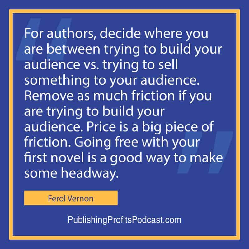 Ebook Promotion Ferol Vernon quote image