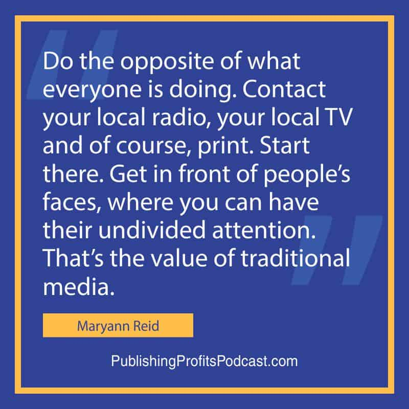 Get Massive Traditional Maryann Reid quote image