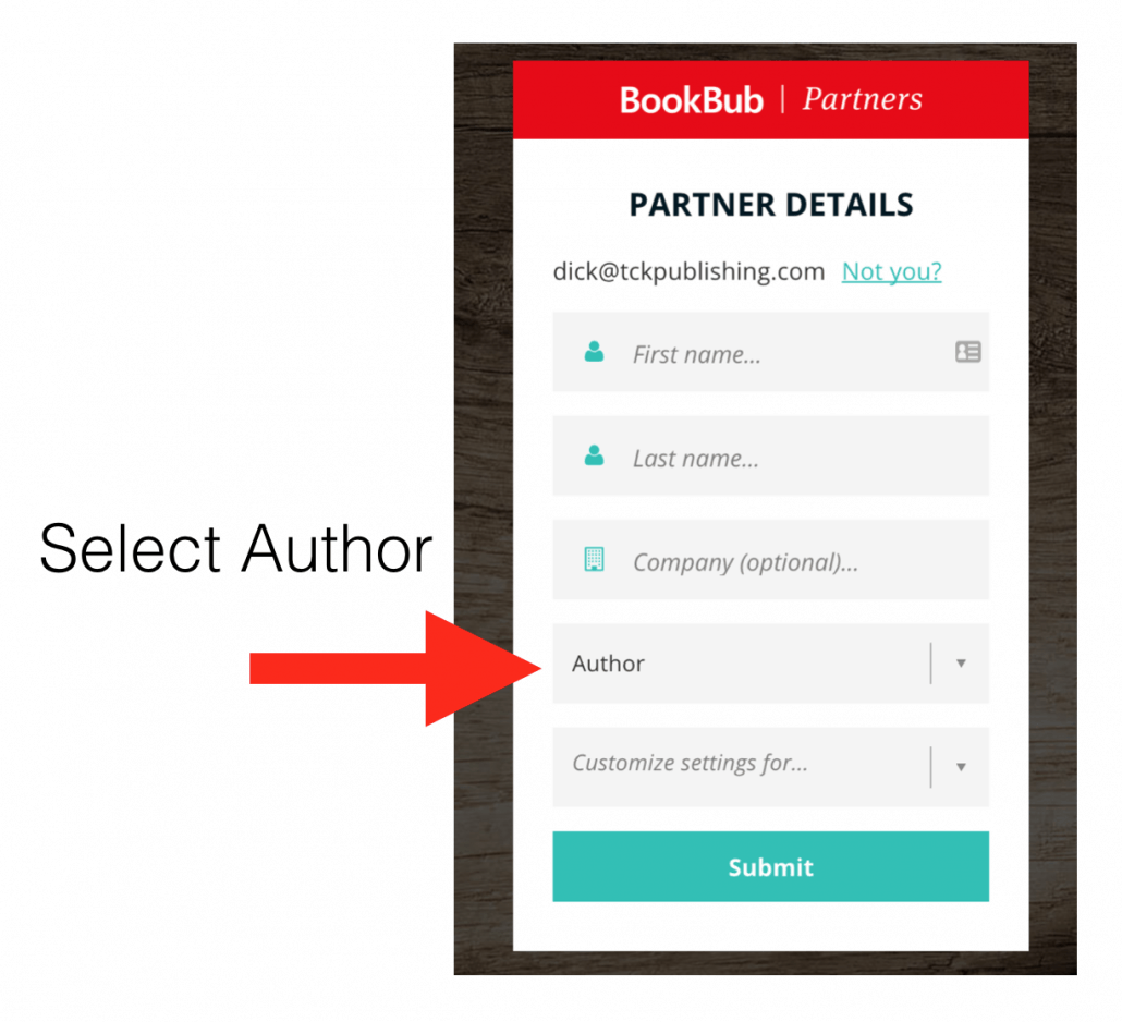 Creating a BookBub Author Profile