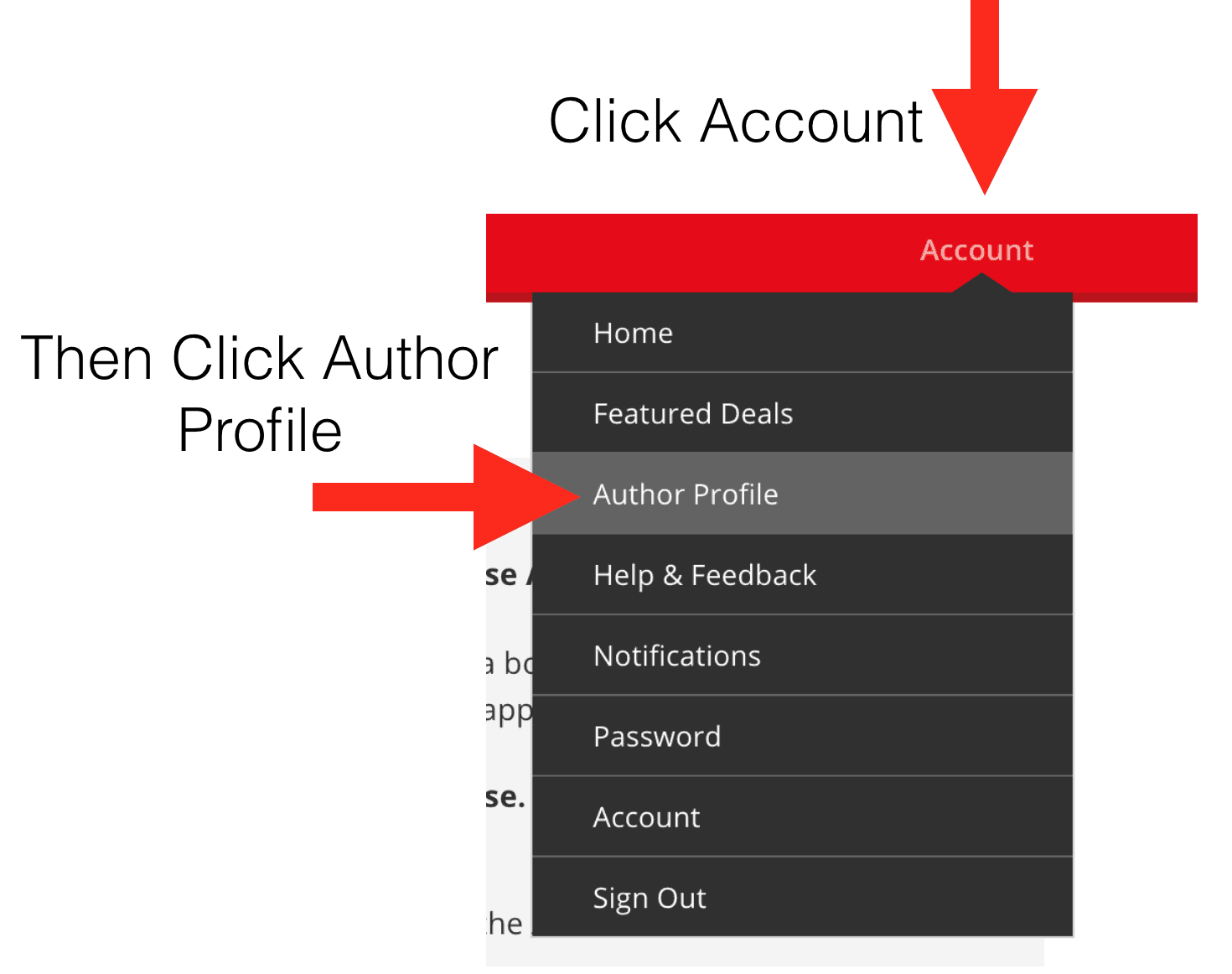 Author Profile Editing for BookBub