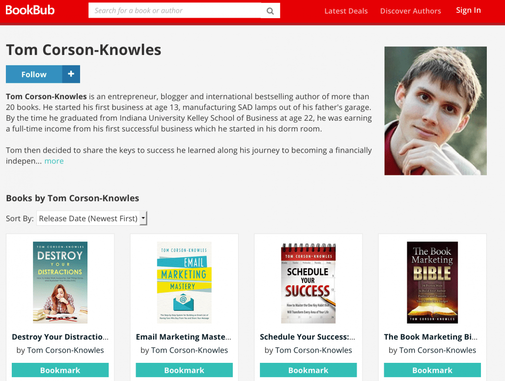 How to Setup Your BookBub Author Profile to Help You Sell More Books