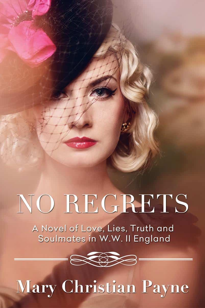 No Regrets Historical Romance Book Cover Design