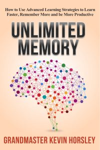 Unlimited Memory Nonfiction Advice Book Cover Design