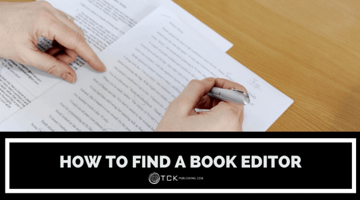 how to find a book editor image