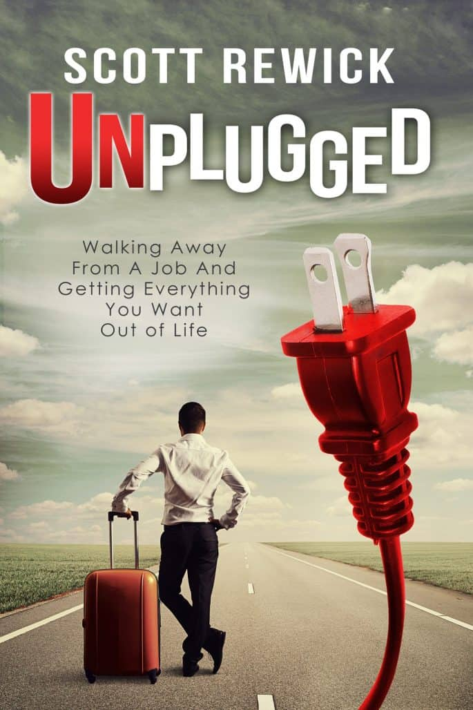 Unplugged Nonfiction Business Book Cover Design