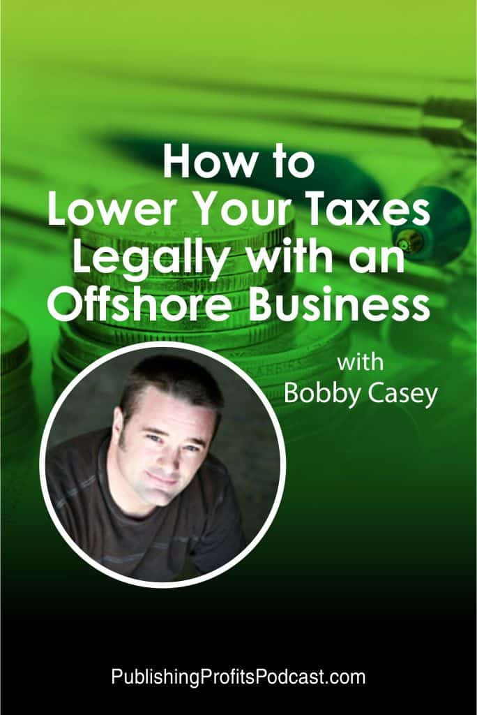 How to lower your taxes Bobby Casey pin image