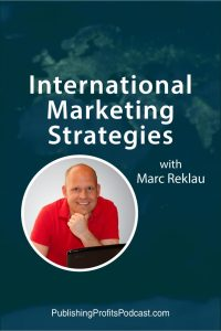 International Marketing Marc Reklau pin image