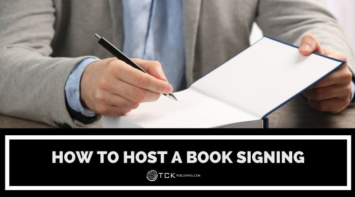 how to host book signings blog post image