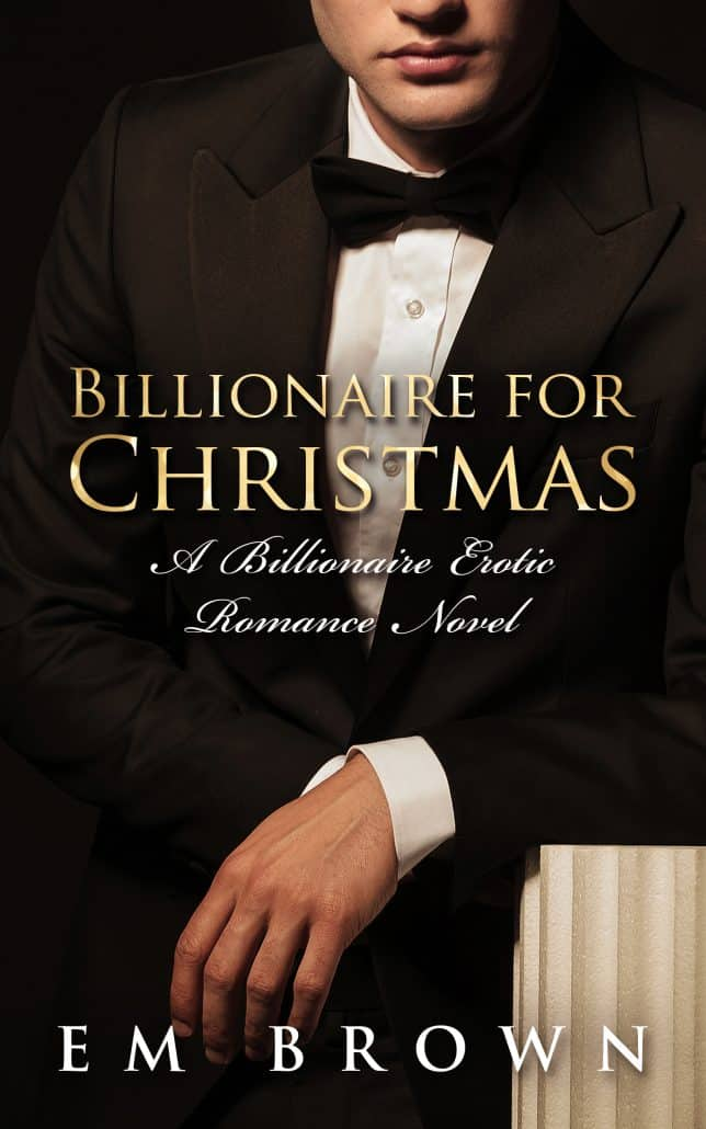 Billionaire for Chistmas Kindle Book Cover Design image