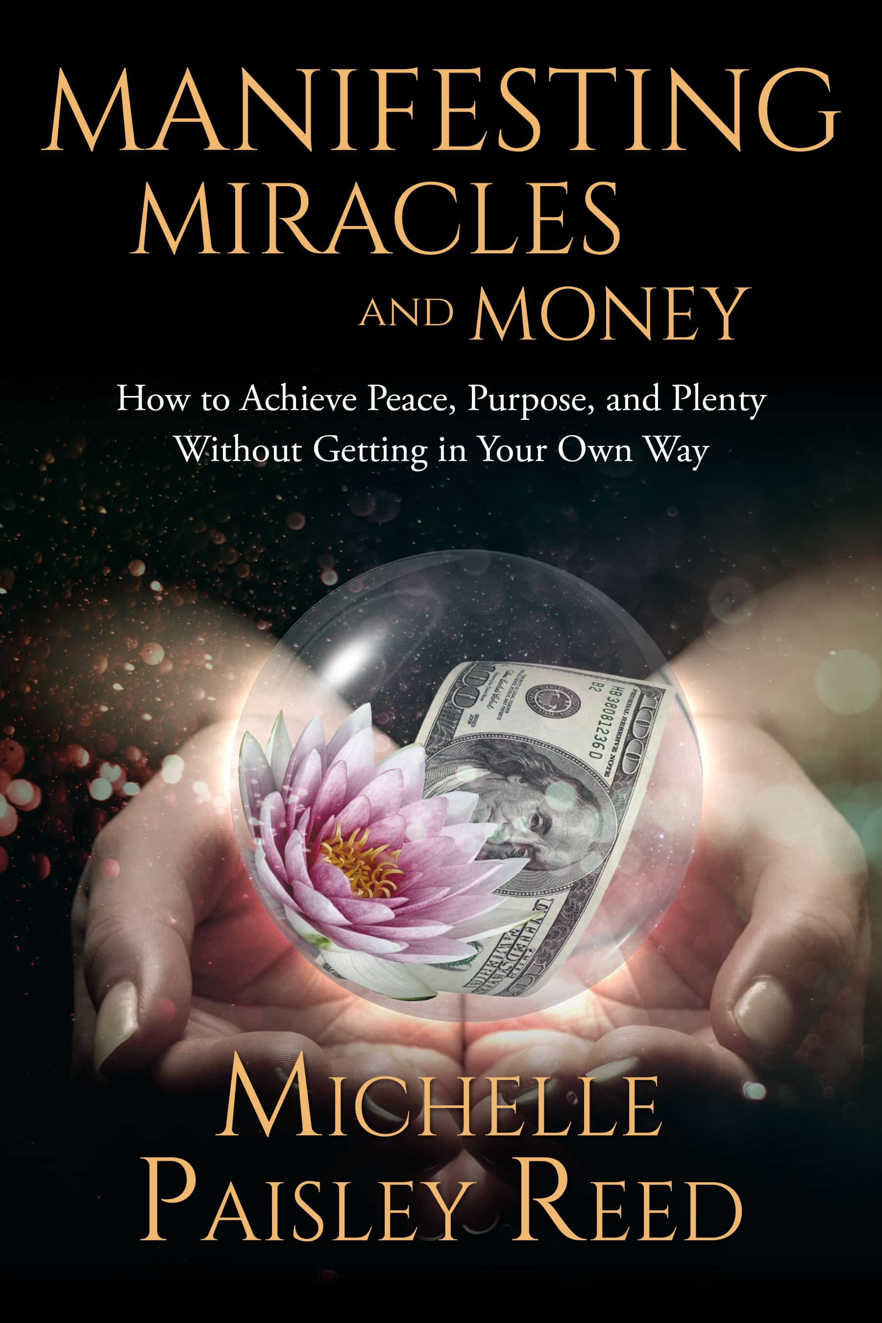 Manifesting Miracles and Money cover design image