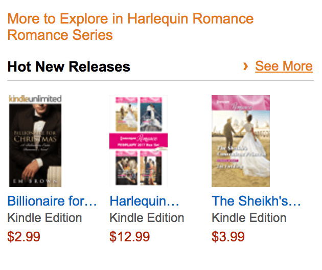 #1 Hot New Release Harlequin Romance Billionaire for Christmas image