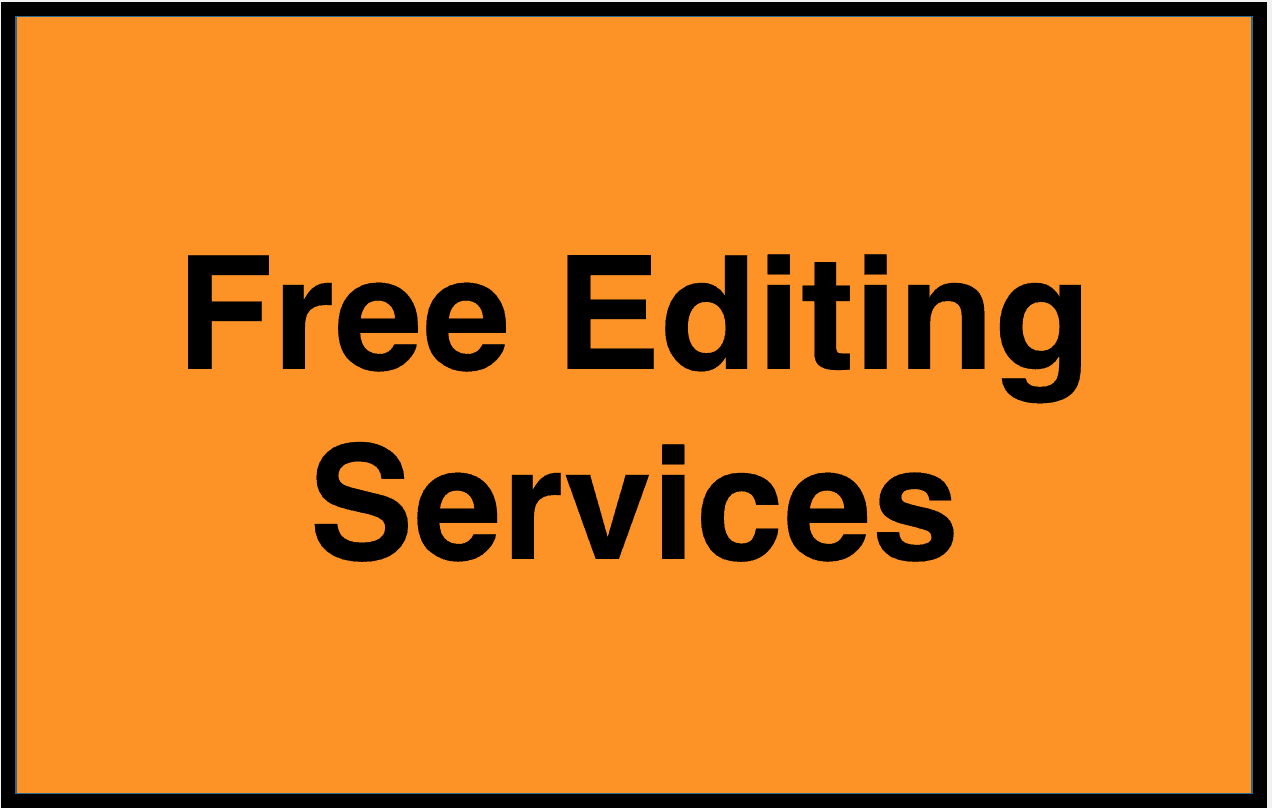 Editing and writing services