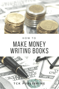 how to make money writing books image
