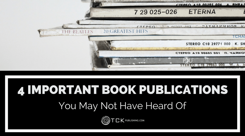 4 Important Book Publications You May Not Have Heard Of