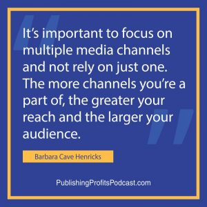 How to Get Book Publicity Barbara Cave Henricks quote image