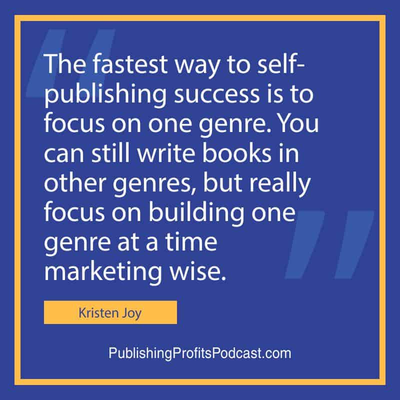 How to Start a Publishing Company Kristen Joy quote image