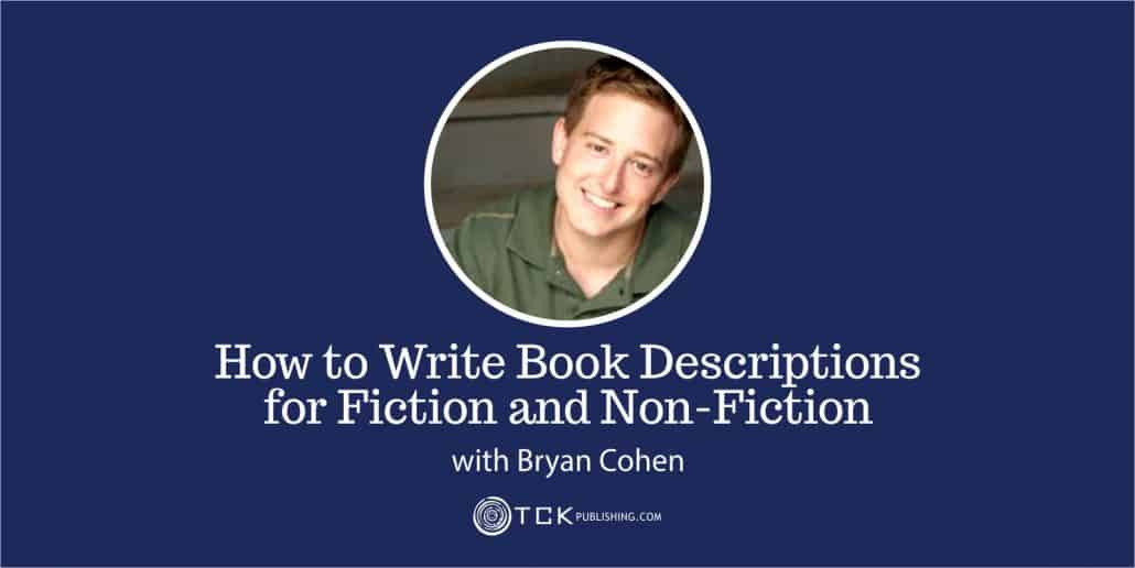 how to write book description for fiction and non-fiction