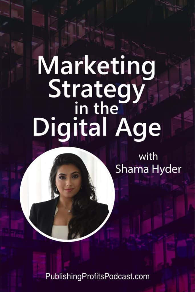 Marketing Strategy Shama Hyder pin image