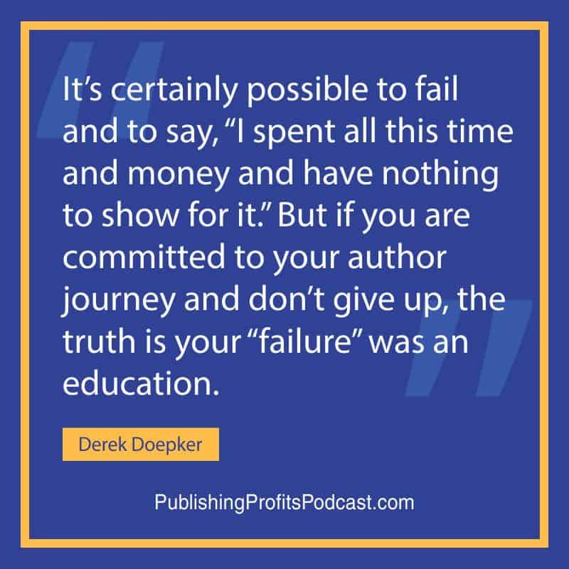 Personal Development Advice Derek Doepker quote image