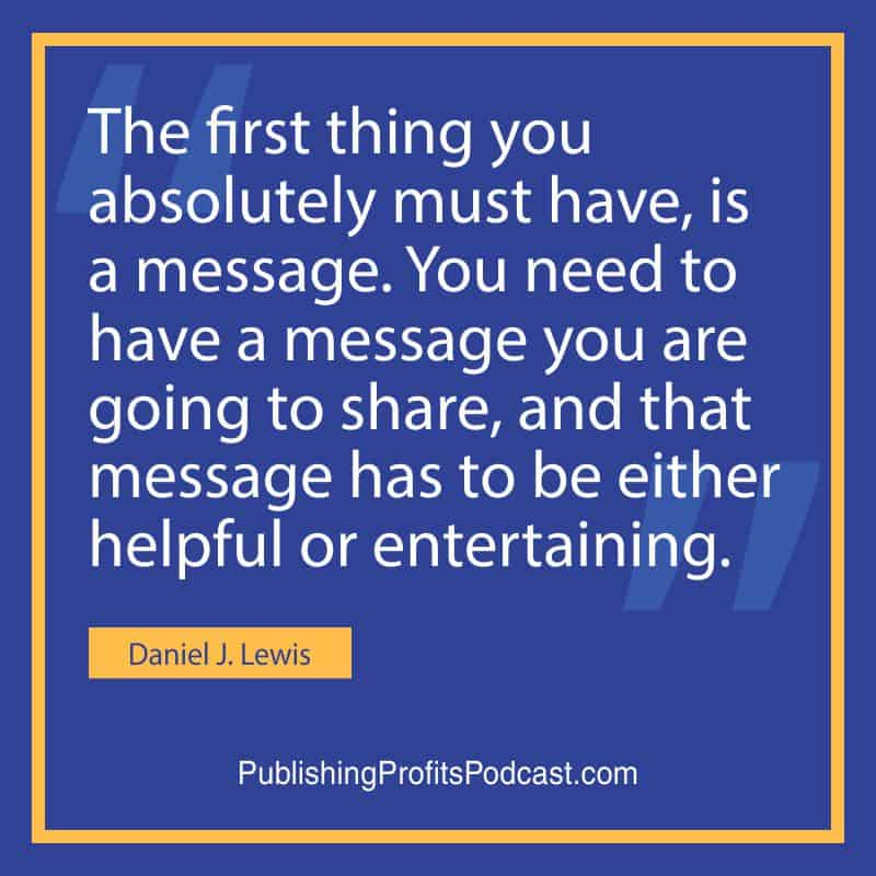 Podcast like a Pro Daniel J Lewis quote image
