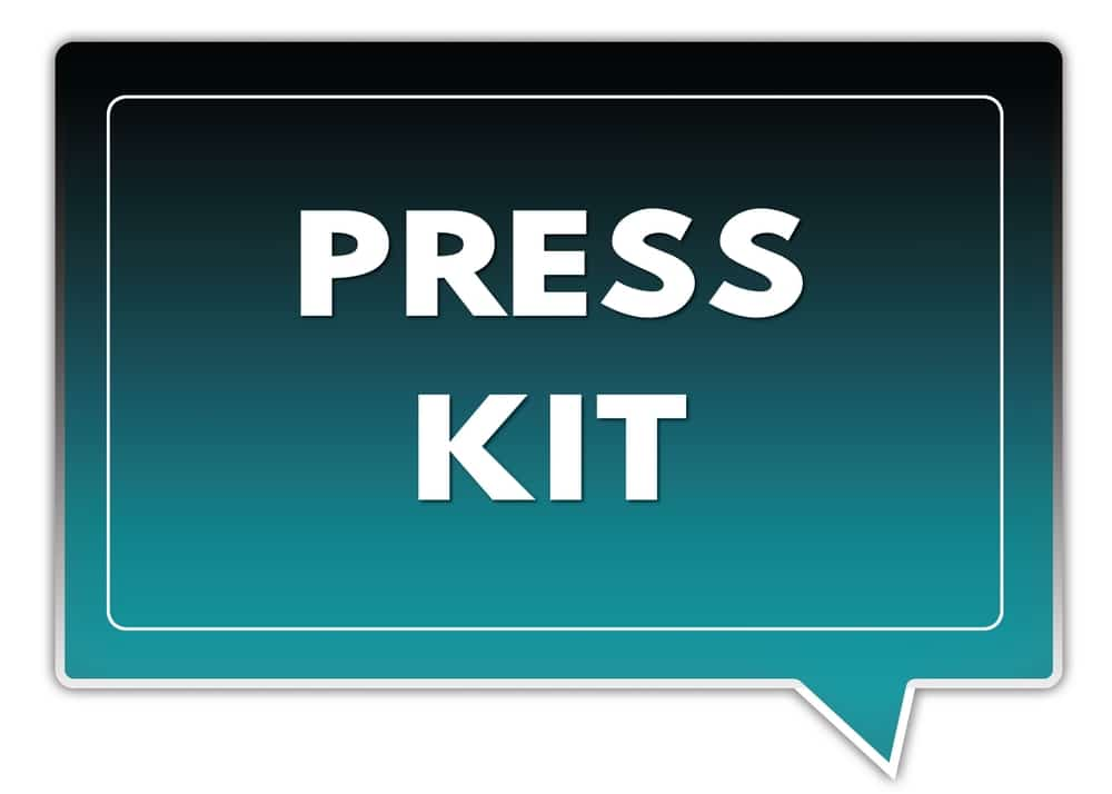 author press kit is a must-have tool
