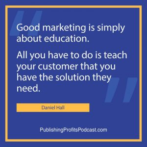 Real Fast Book Marketing Results Daniel Hall header quote image