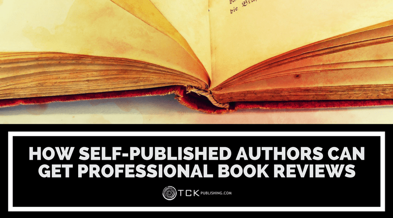 how to get a professional book review for self-published authors