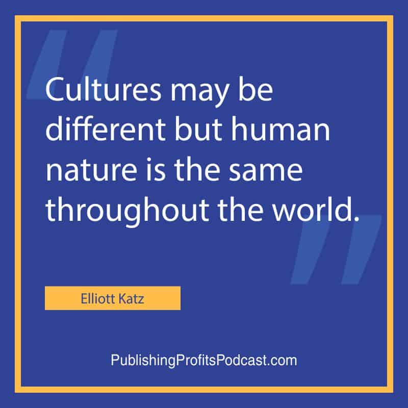Selling Foreign Language Elliott Katz quote image