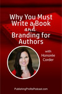 Why you must write Honoree Corder pin image