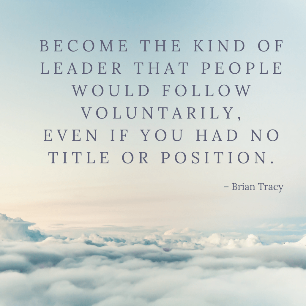 Brian Tracy quote on leadership