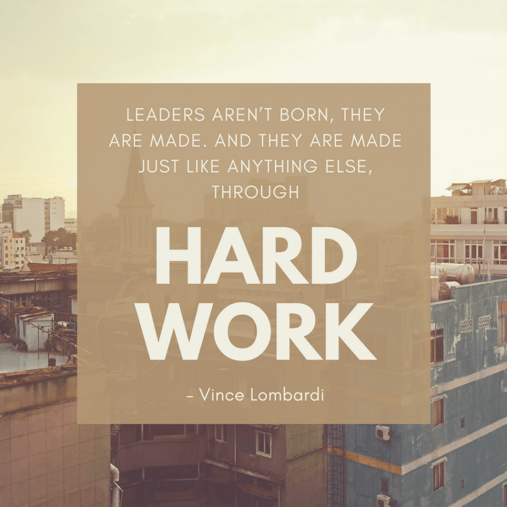 Vince Lombardi leadership quote